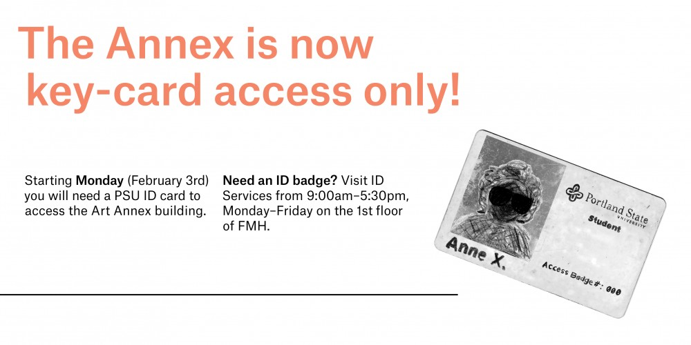 Annex is Key Card Access ONLY
