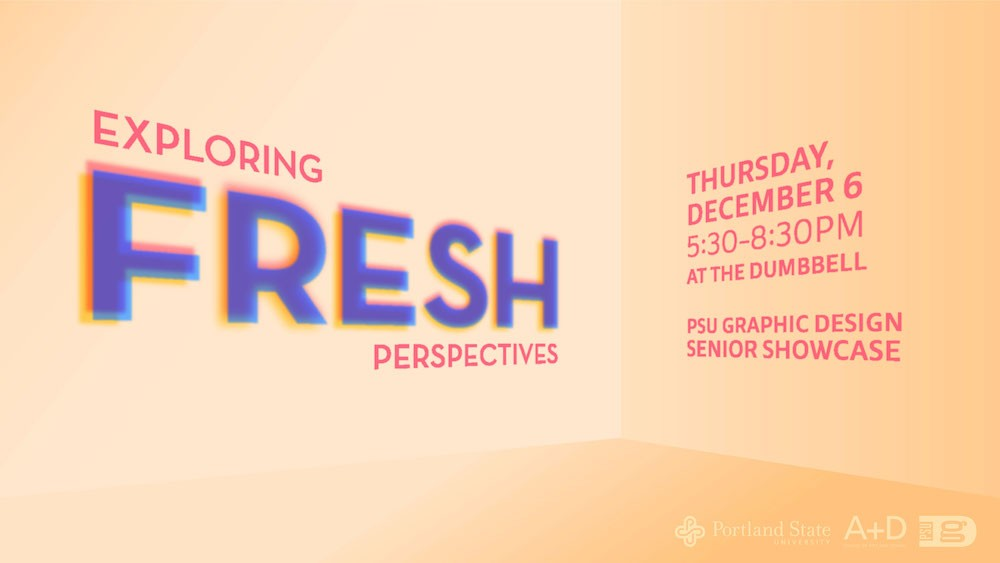Fresh - Graduating GD Portfolio Show