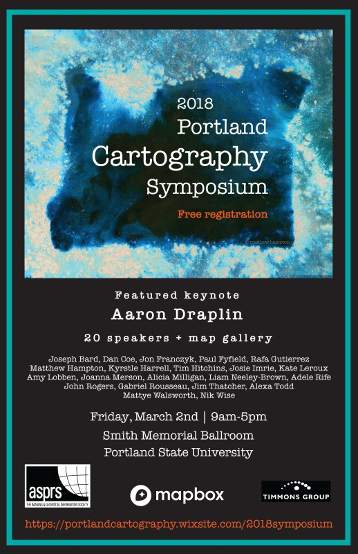 The GIS Club is hosting Aaron Draplin! March 3rd! Free! | Portland