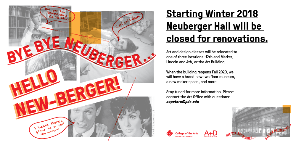 Neuberger Hall is being renovated!