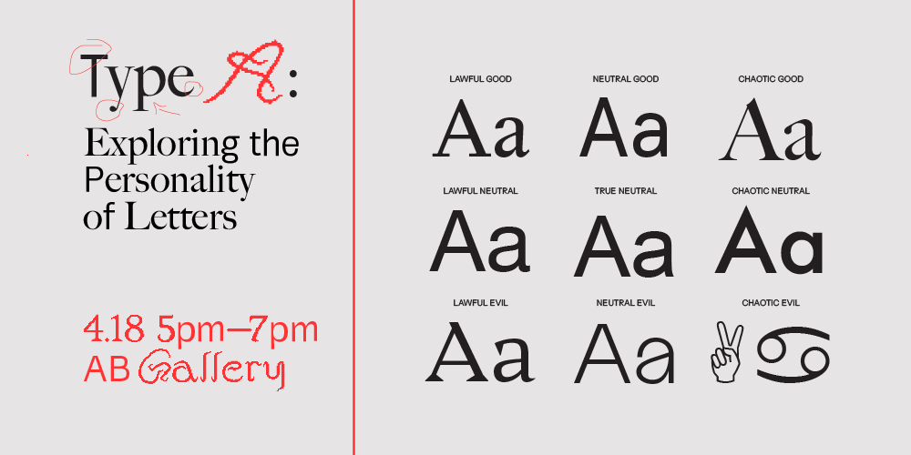 Type A: Exploring Letters Workshop
