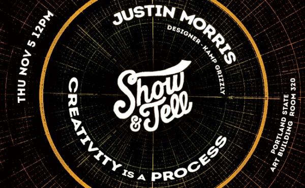 show & tell justin morris slider