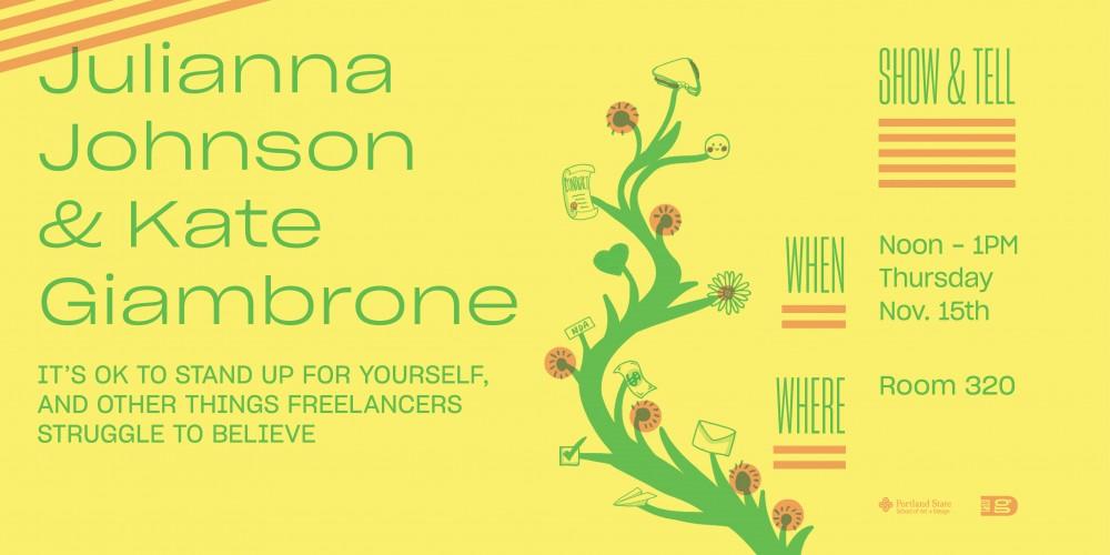 Show & Tell! Kate Giambrone and Julianna Johnson on